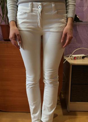 Красивые брюки/ белоснежные брюки