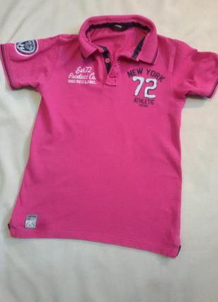 Розовая футболка р. xs . george