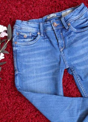 Джинсы скинни узкие синие skinny garcia jeans -36р