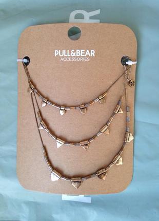 Ожерелье, подвеска, украшение на шею pull&bear