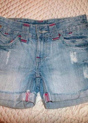 Джинсовые шорты, шортики new look