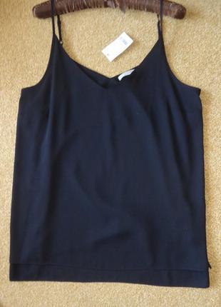 Блуза на тонких шлейках george - размер uk 12 ( eur 40 )