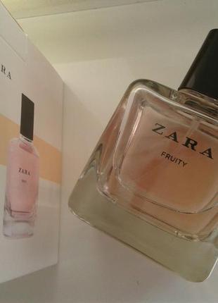 Zara fruity 100 ml ( оригінальні, нові, без коробки)