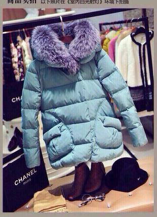 Курточка із натульним мєхом