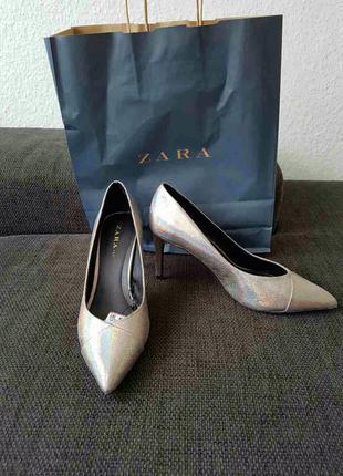 Классные туфельки#лодочки# zara !!!