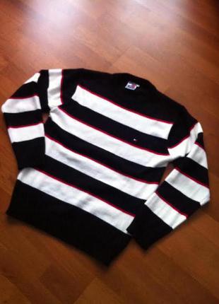 Кофта теплая пуловер
