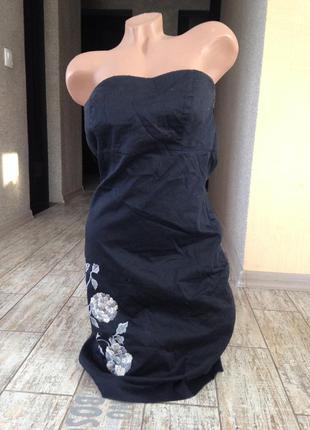 #маленькое черное платье vero moda#платье бюстье#платье футляр#нарядное платье####