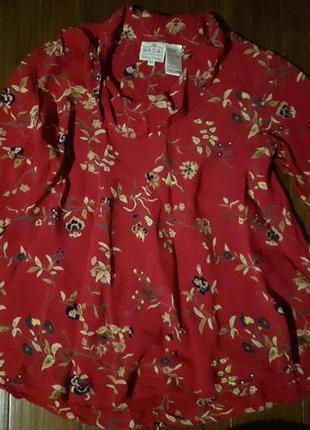 Блуза свободная от masai! p.-xl
