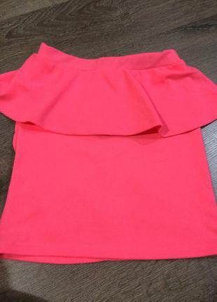 Яркая юбка для стильных