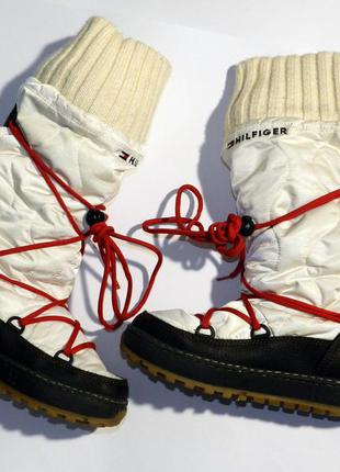 Tommy hilfiger сапоги snow boots