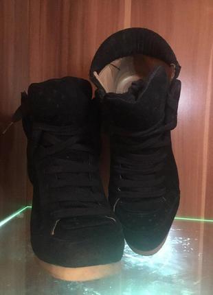 Шикарные ботильоны  zara ( ботинки)