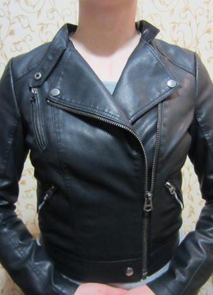 Куртка косуха topshop, размер 38, s-m
