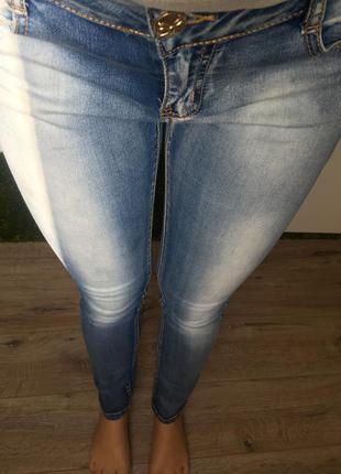 Новые джинсы hm скинни