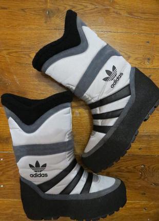 Зимние сноубутсы,сапоги,луноходы adidas originals(оригинал)р.41