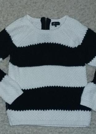 Классный полосатый свитер