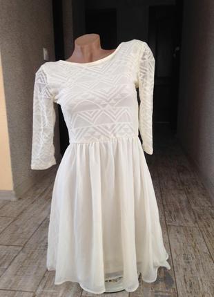 #красивое гипюровое платье h&m#нарядное платье#вечернее платье#выпускное платье#коктейльное платье#