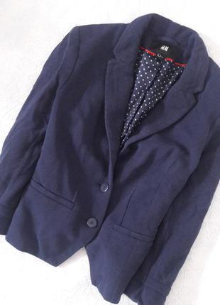 Темно синий пиджак м