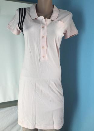Платье спортивное adidas , хлопок хс, с