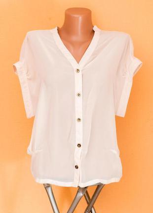 Молочная блуза topshop