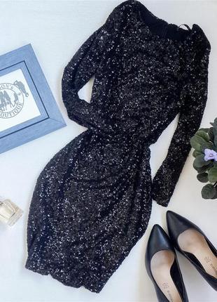 Шикарна вечірня сукня в пайєтках від miso