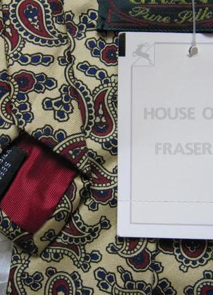 Галстук шелковый house of fraser новый