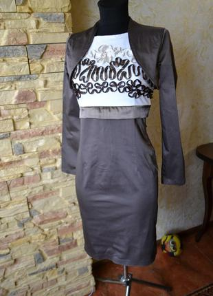 Очень красивое платье_ р..46