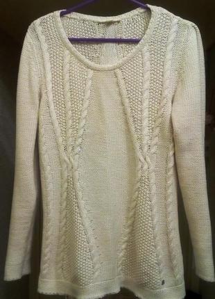 Классический зимний свитер
