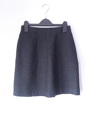 Inc london s размер  серая юбка на высокой талии