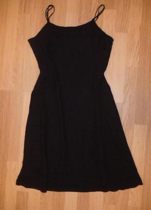 "Платье вечернее, шифон натур.100% вискоза,фирменное""m&s"", р. 12(40),"