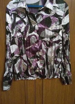 Блуза плиссированная