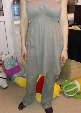 Качественное коттоновое платье tally weijl