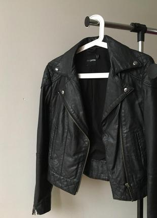 Кожаная куртка ( косуха ) asos