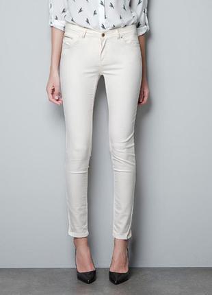 Белые джинсы скини skiny jeans denim & co