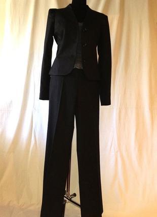 Широкие от бедра брюки+ пиджак костюм офисный monica ricci