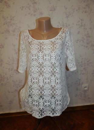 Next блузка стильная модная р 14