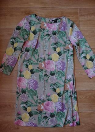 Платье цветочного принта от hm