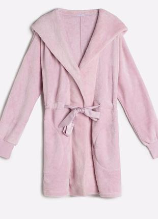 Невероятно мягкий, теплый и красивый халат oysho, s,m,l