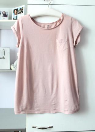 Нежно розовая футболочка от h&m