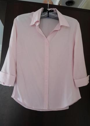 Нежная розовая рубашечка