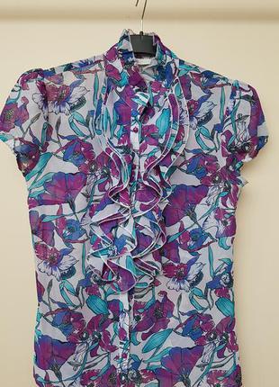 Sale яркая блуза oodji