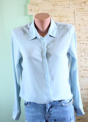 Нежная шифоновая блуза рубашка atmosphere