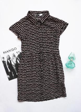 Короткое платье сарафан h&m