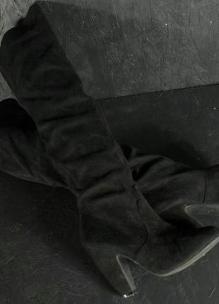 Сапоги батфорты черные 39