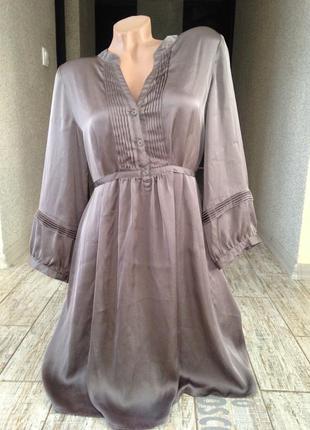 #атласное платье h&m#нарядное платье#красивое платье#коктейльное платье#офисное платье#вечернее#
