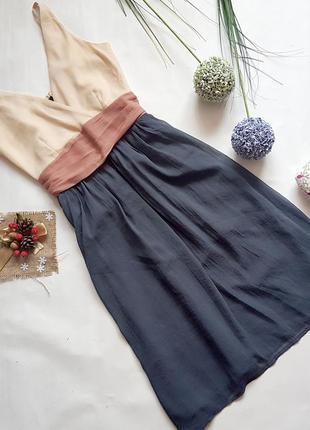 Платье шифоновое сарафан