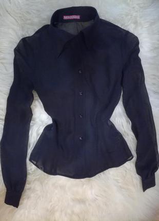 Фирменная красивая блузка рубашка классическая деловая natali bolgar