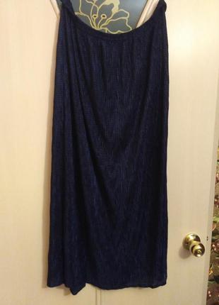 Костюм кофта и юбка большой размер