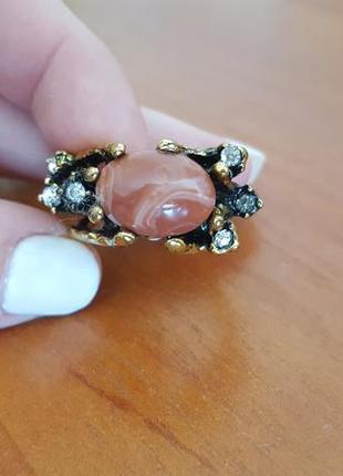 Очень модное актуальное кольцо parfois дорогая бижутерия
