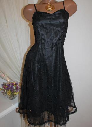 Only красивое базовое черное платье с отличной отделкой, размер xs