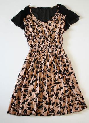 Платье с птичками atmosphere